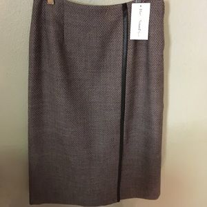 Harve Benard Skirts - Wool skirt with free holiday gift wrap and bow.